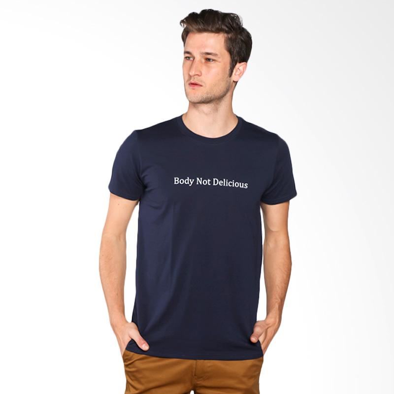 Snaaks Body Not Delicious BN Man T-shirt - Navy Extra diskon 7% setiap hari Extra diskon 5% setiap hari Citibank – lebih hemat 10%