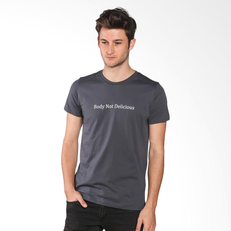 Snaaks Body Not Delicious BN Man T-shirt - Grey Extra diskon 7% setiap hari Extra diskon 5% setiap hari Citibank – lebih hemat 10%