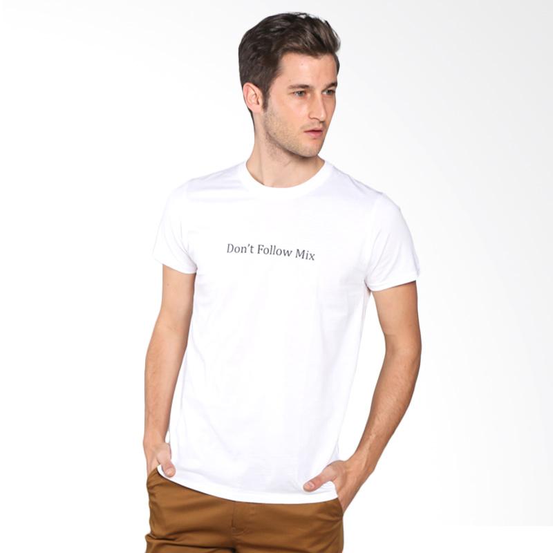 Snaaks Don't Follow Mix DF Man T-shirt - White Extra diskon 7% setiap hari Extra diskon 5% setiap hari Citibank – lebih hemat 10%