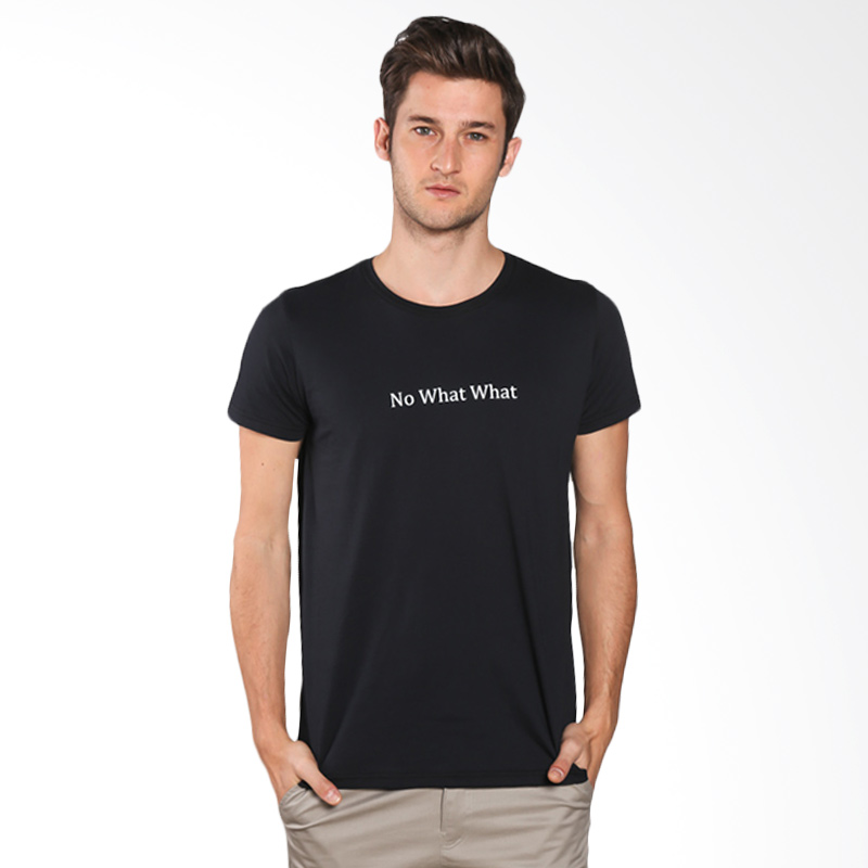 Snaaks No What What NW Man T-shirt - Black Extra diskon 7% setiap hari Extra diskon 5% setiap hari Citibank – lebih hemat 10%