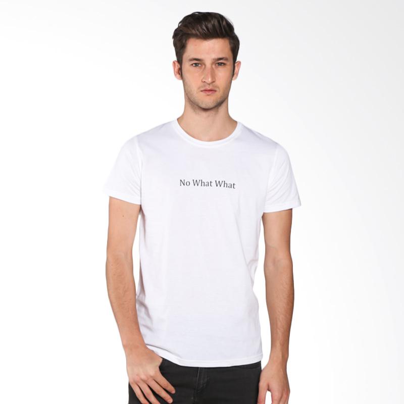 Snaaks No What What NW Man T-shirt - White Extra diskon 7% setiap hari Extra diskon 5% setiap hari Citibank – lebih hemat 10%