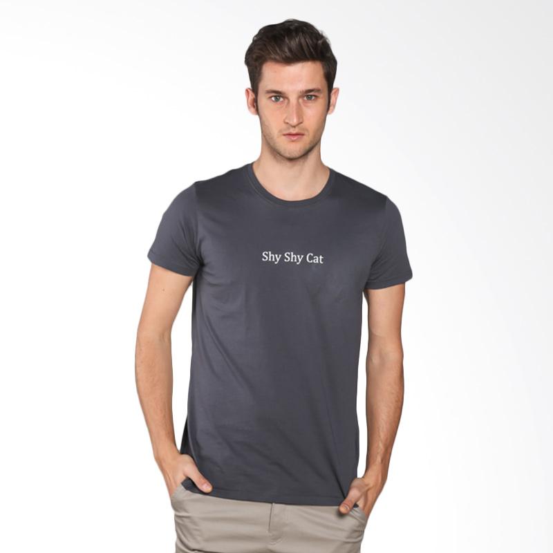 Snaaks Shy Shy Cat SS Man T-shirt - Grey Extra diskon 7% setiap hari Extra diskon 5% setiap hari Citibank – lebih hemat 10%
