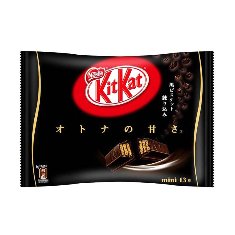 Kitkat Dark Chocolate Biskuit [13 Pcs]