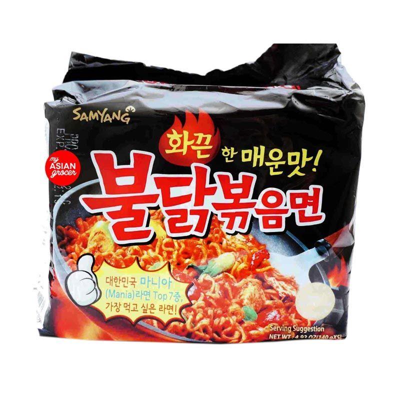 Jual Samyang Spicy Chicken Mie Instan [5 Pcs] Online - Harga & Kualitas Terjamin