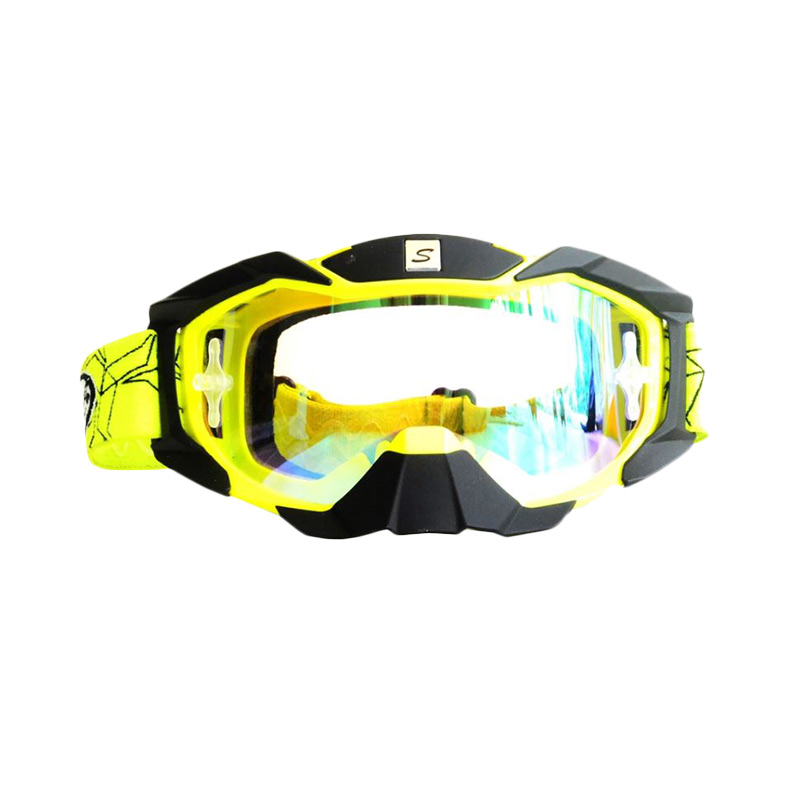 harga Snail MX36 Kaca Pelangi Kacamata Google - Hitam List Kuning [KMT6066Pelangi-HitamListKuningNew] Blibli.com