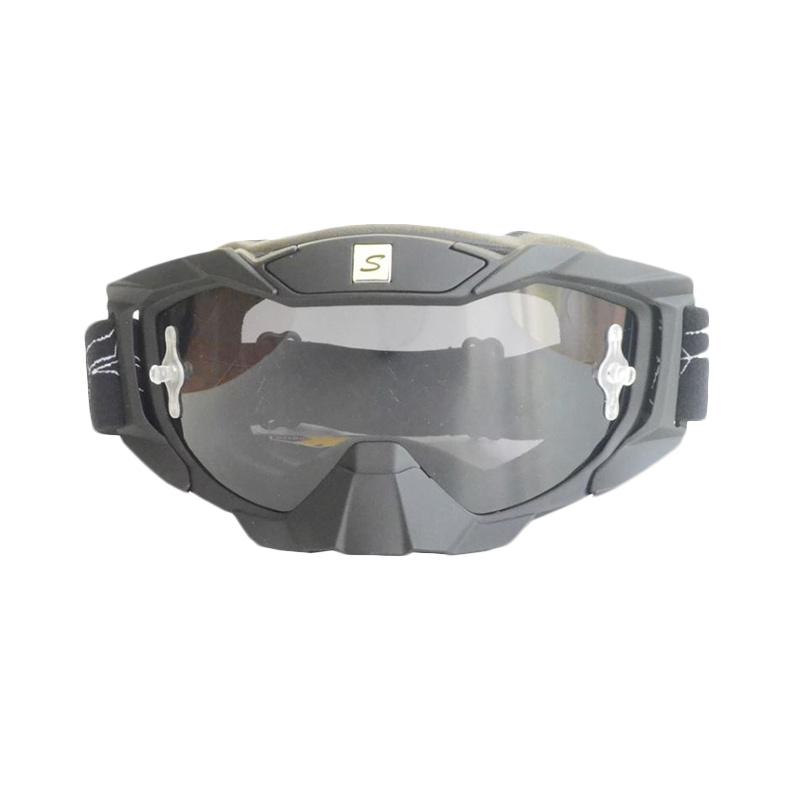 harga Snail MX36 Kaca Ribben Kacamata Google - Hitam [KMT6066-Riben-Hitam] Blibli.com
