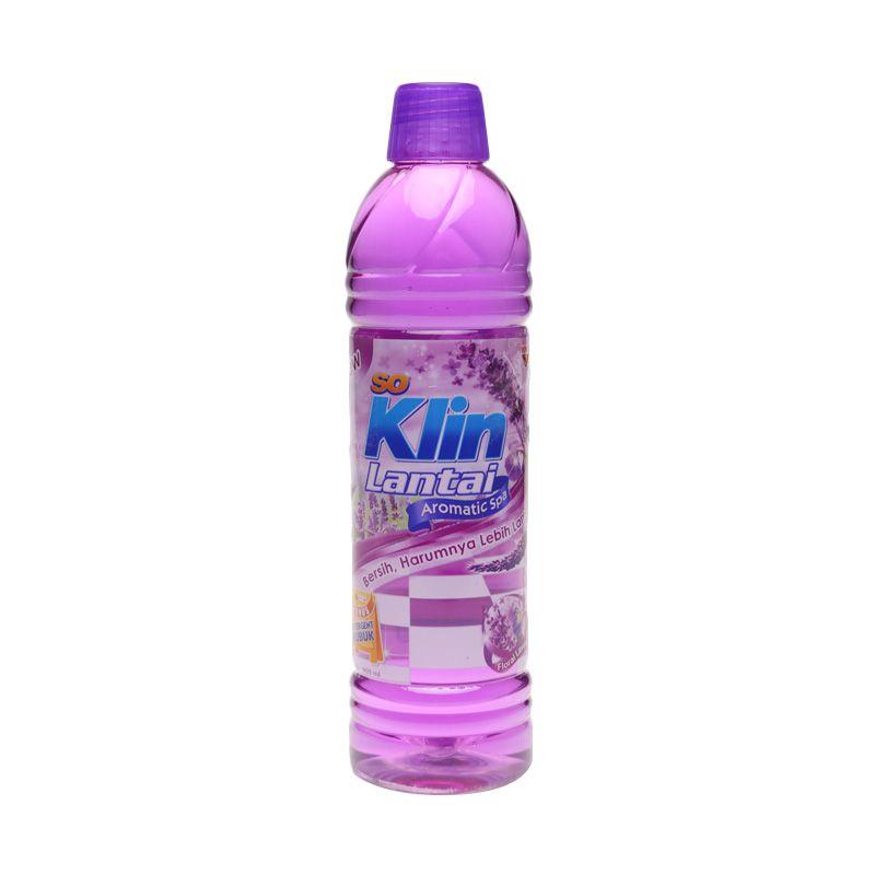 Jual So Klin Pembersih Lantai Floral Lavender Ungu Botol [900 ml] 1060355 Online –
