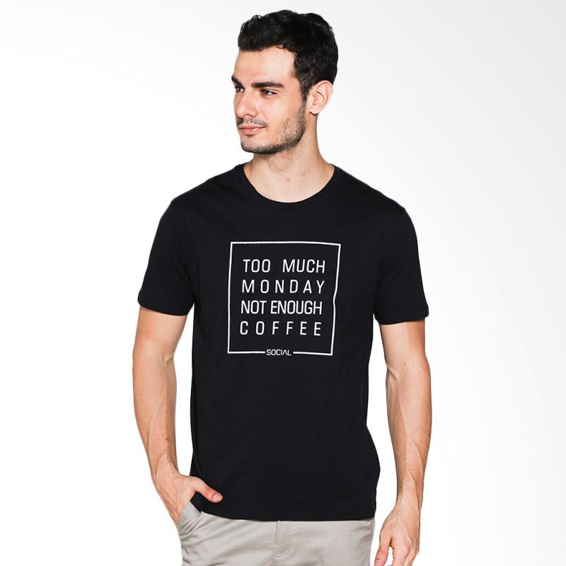 Social Jetlag Monday Coffee TS-118 - Black Extra diskon 7% setiap hari Extra diskon 5% setiap hari Citibank – lebih hemat 10%