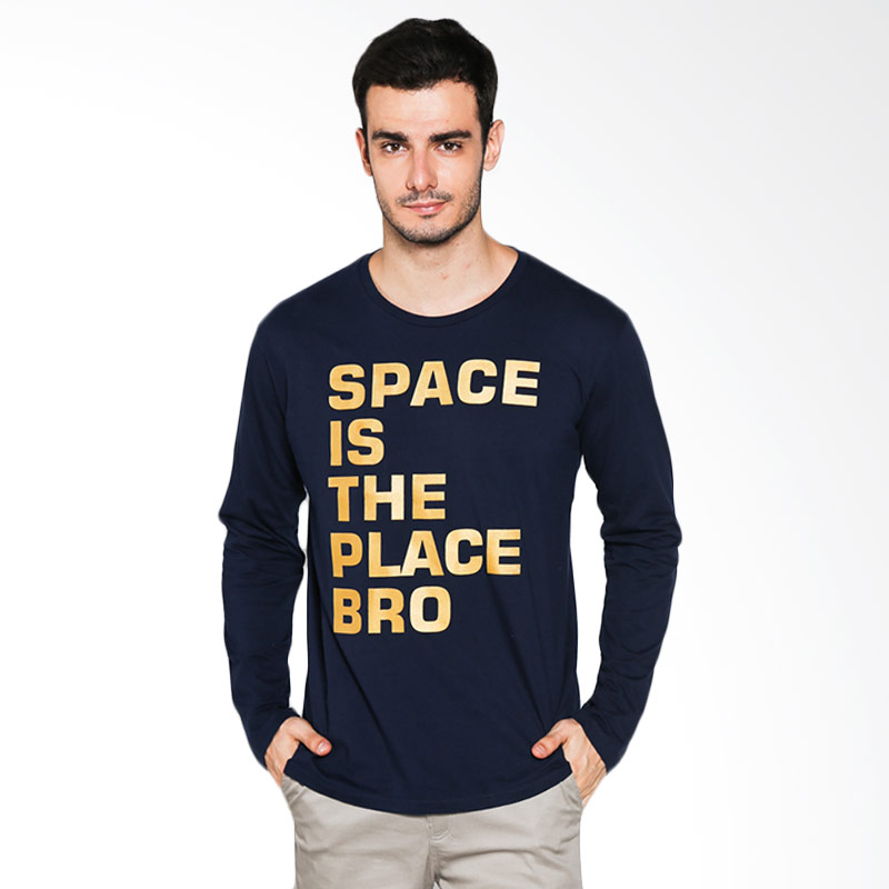 Social Jetlag Space The Place TS-103 - Navy Extra diskon 7% setiap hari Extra diskon 5% setiap hari Citibank – lebih hemat 10%