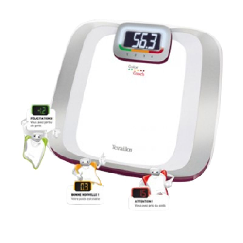 Terraillon, Electric scale, Color Coach T-11612