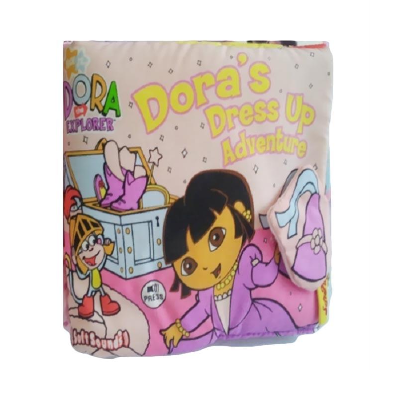 Soft Play Dora's Dress Up Advanture Buku Anak