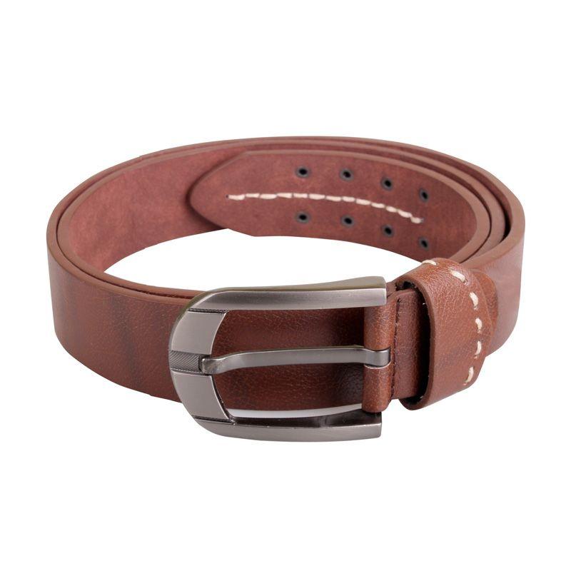 Sogno Kuitband Leather 0088 Coklat Ikat Pinggang Pria