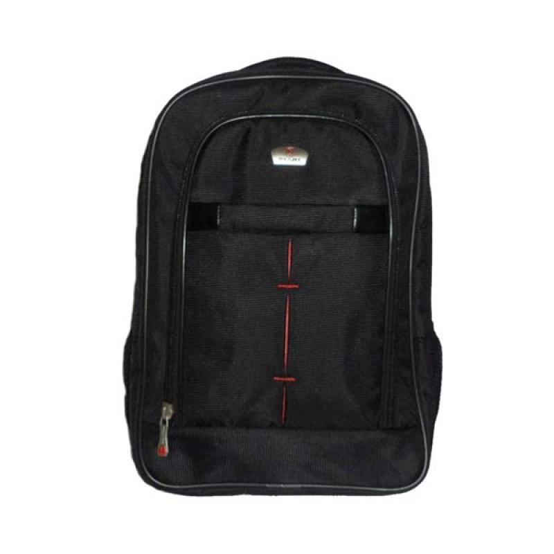Sogno Poloace 9013 Black Backpack Tas Ransel
