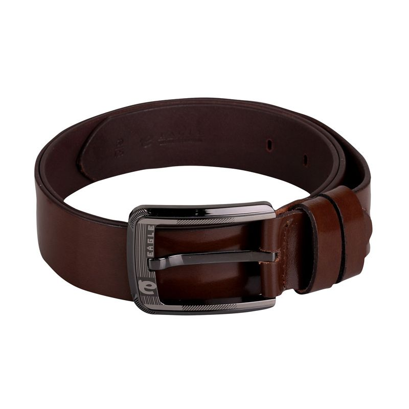 Sogno Sinturon 0016 Leather Coklat Men Belt