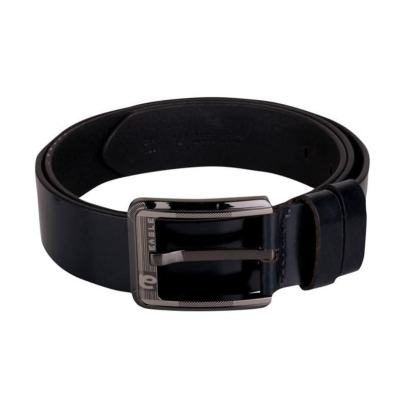 Sogno Sinturon 0016 Leather Hitam Men Belt