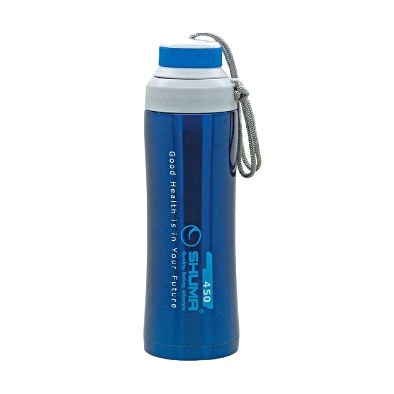 Shuma S/S Vacuum Sport Biru Botol Minum [450 mL]