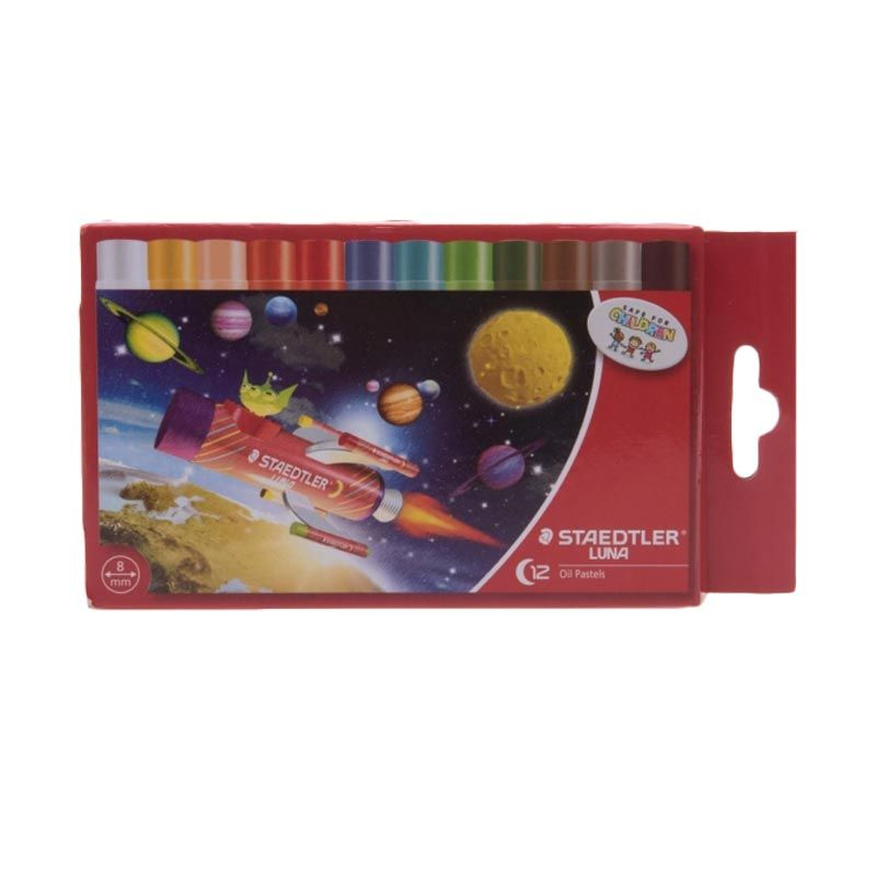 Staedtler Luna Set Oil Pastel [12 Pcs]