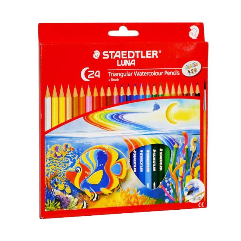 Staedtler Luna Triangular Watercolour Pensil Warna