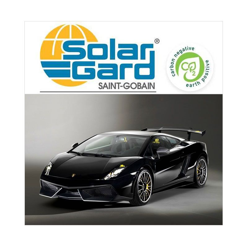 Solar Gard Silver Grey 10 Lamborghini Kaca Film