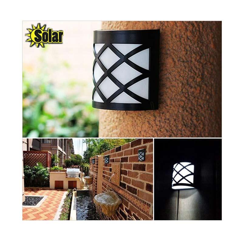 Jual Solar Lantern Light Sensor Outdoor N763 Lampu Taman Tenaga Surya 6 Led Online April 2021 Blibli