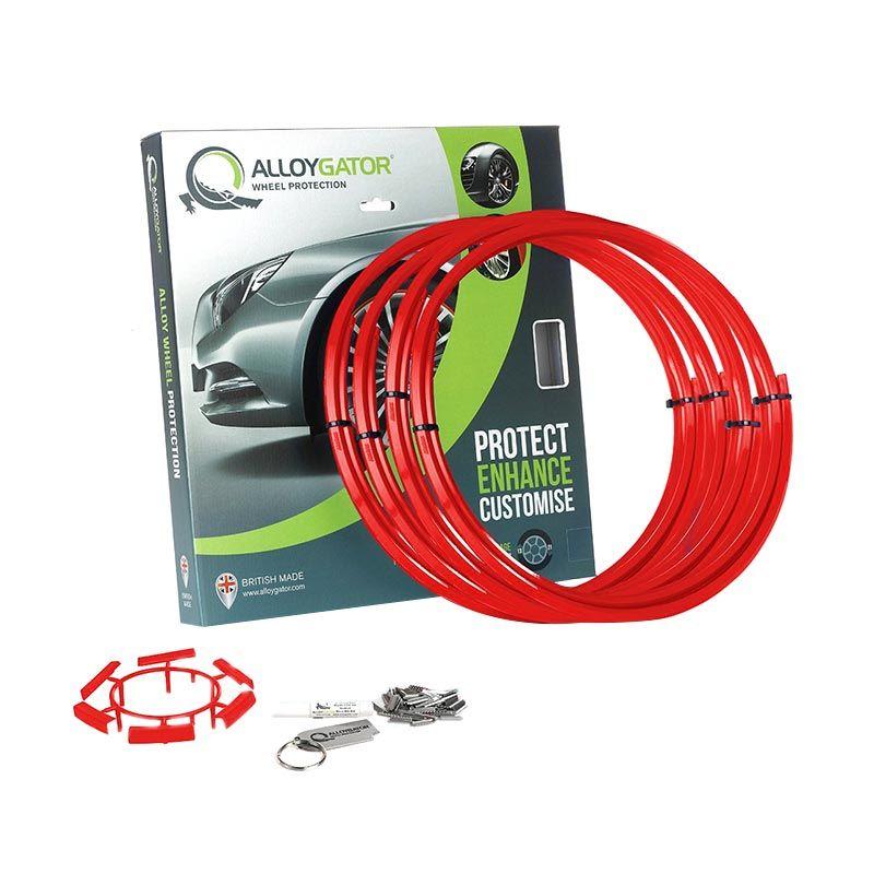 Alloygator - Pelindung Velg Merah
