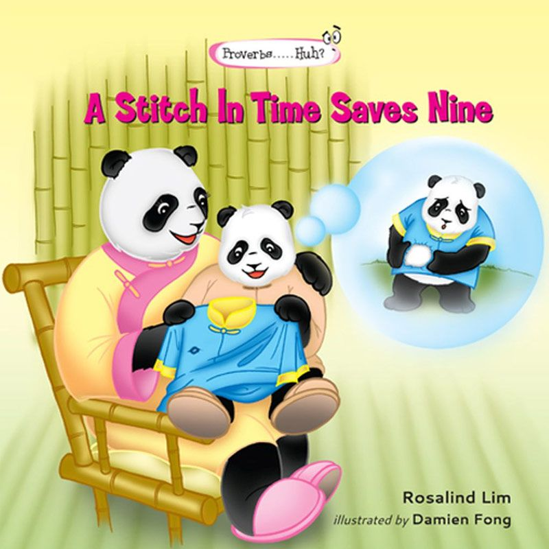A Stitch In Time Saves Nine Buku Anak