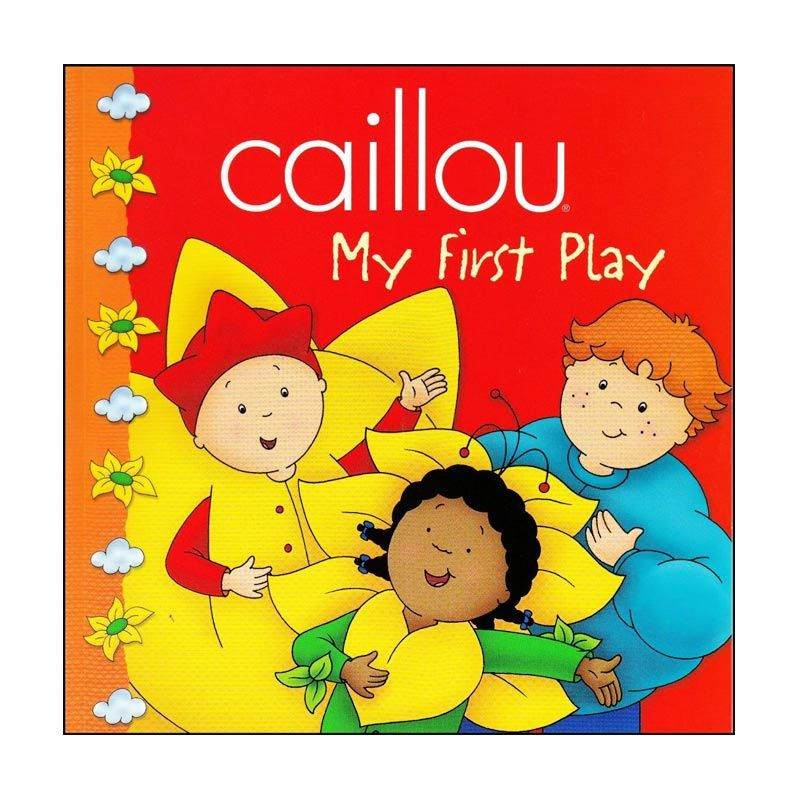 Caillou My First Play Buku Anak