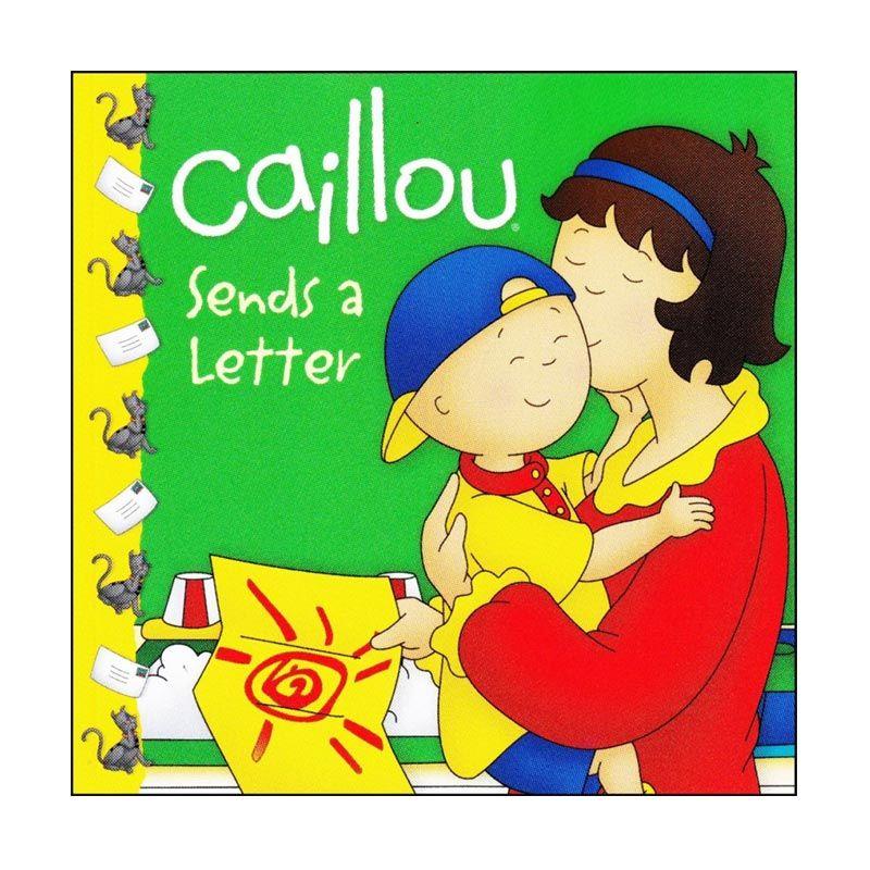 Caillou Sends a Letter Buku Anak