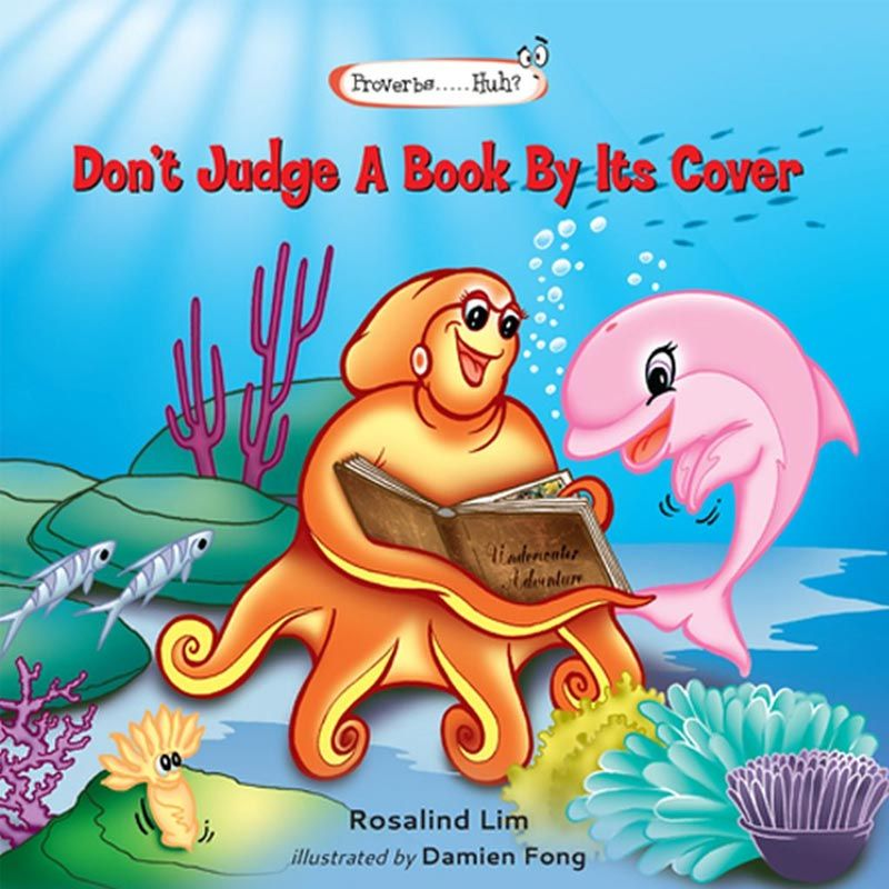 Don't Judge A Book By Its Cover Buku Anak