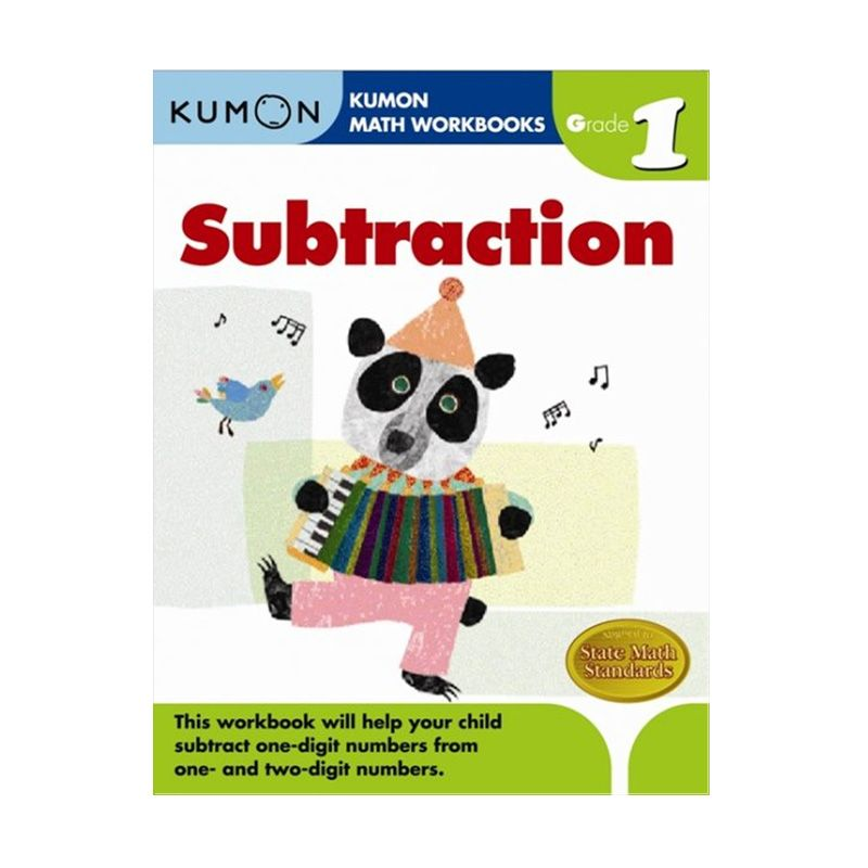 Grade 1 Subtraction by Kumon Buku Edukasi