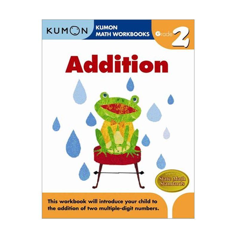 Grade 2 Addition Workbooks Buku Anak