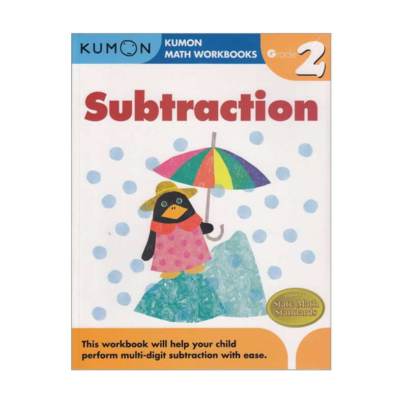 Grade 2 Subtraction Workbooks Buku Anak