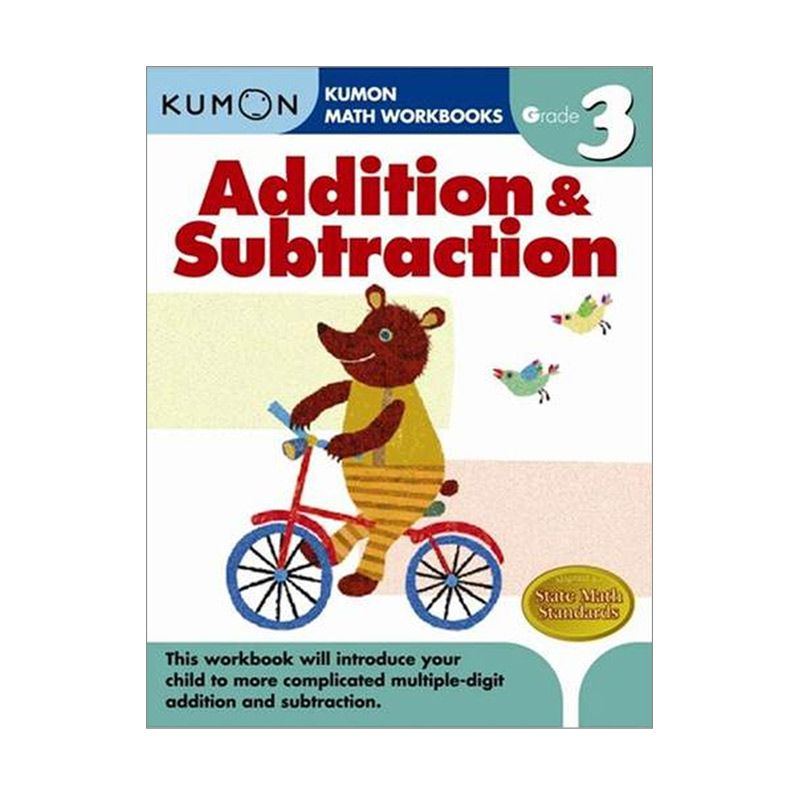Grade 3 Addition & Subtraction Workbooks Buku Anak