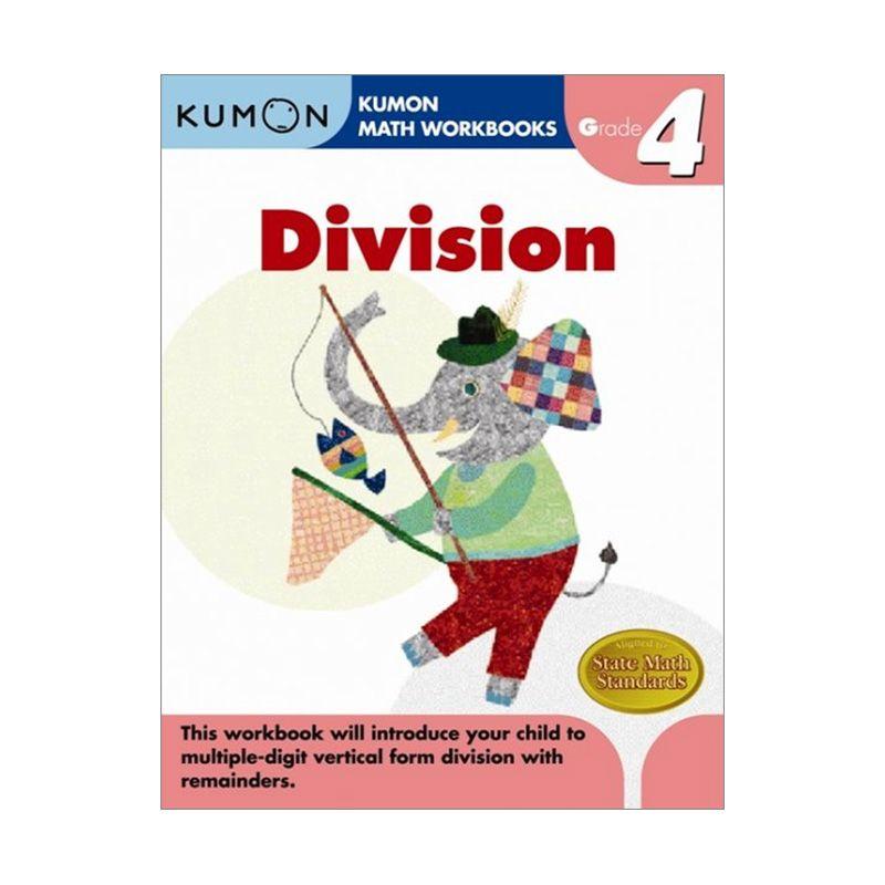 Grade 4 Division Workbooks Buku Anak