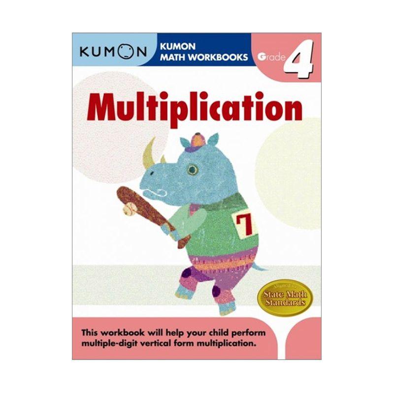 Grade 4 Multiplication Workbooks Buku Anak