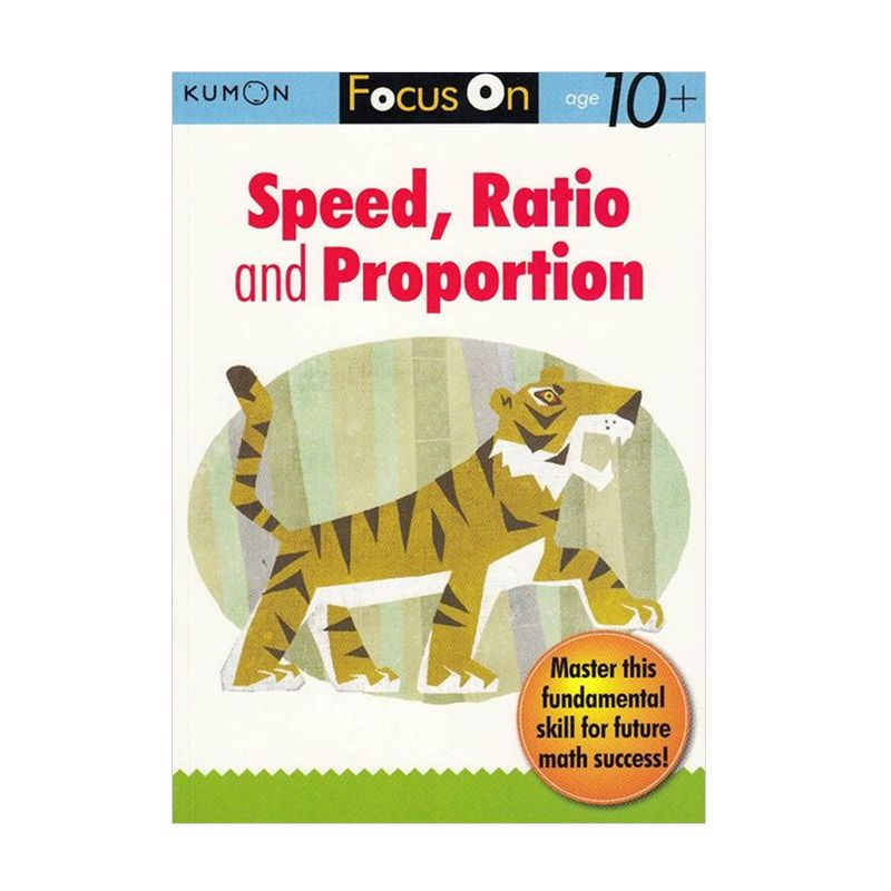 Kumon Focus on Speed Proportion and Ratio Buku Matematika