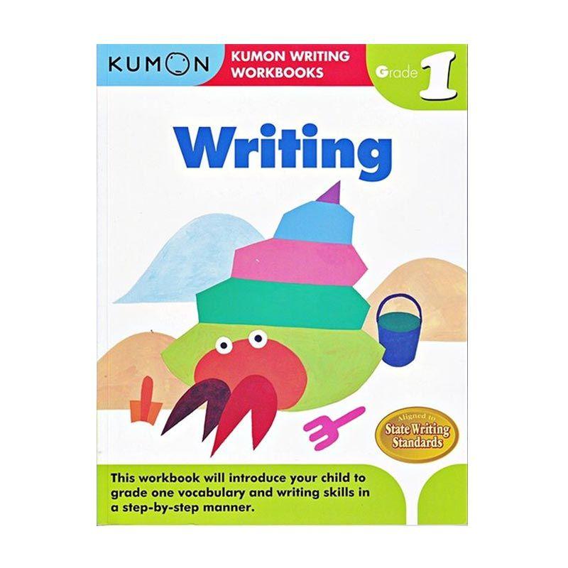 Kumon Grade 1 Writing Workbooks Buku Anak