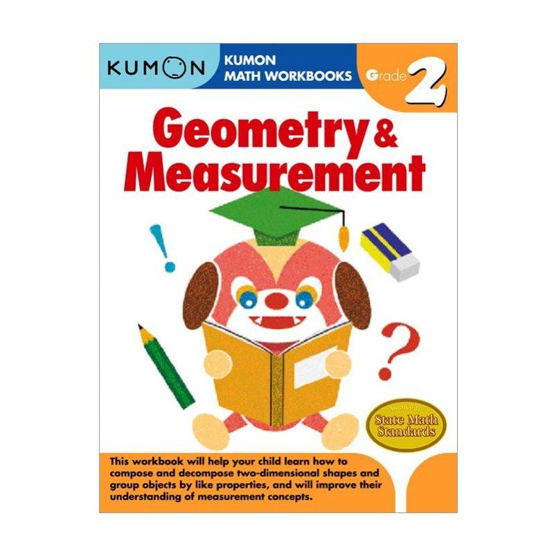 Kumon Grade 2 Geometry & Measurement Workbooks Buku Anak