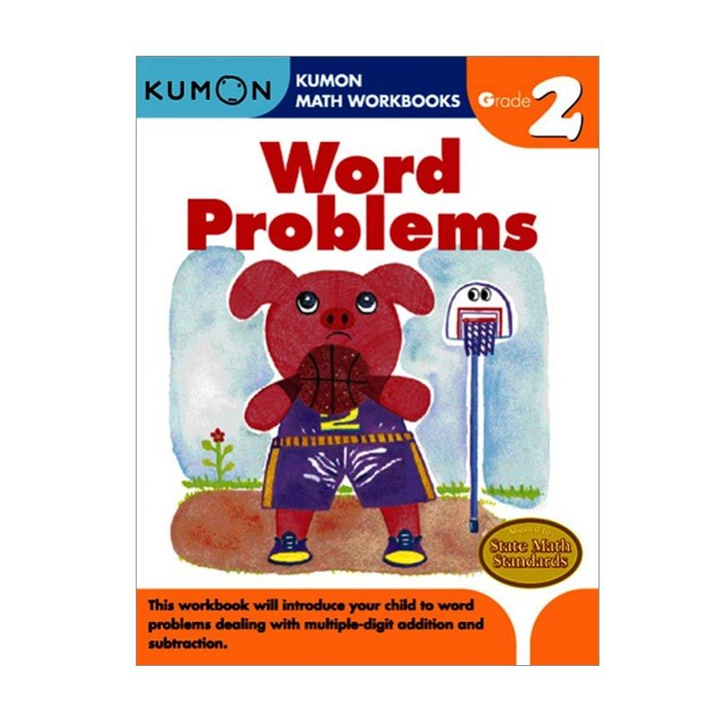 Kumon Grade 2 Word Problems Workbooks Buku Anak