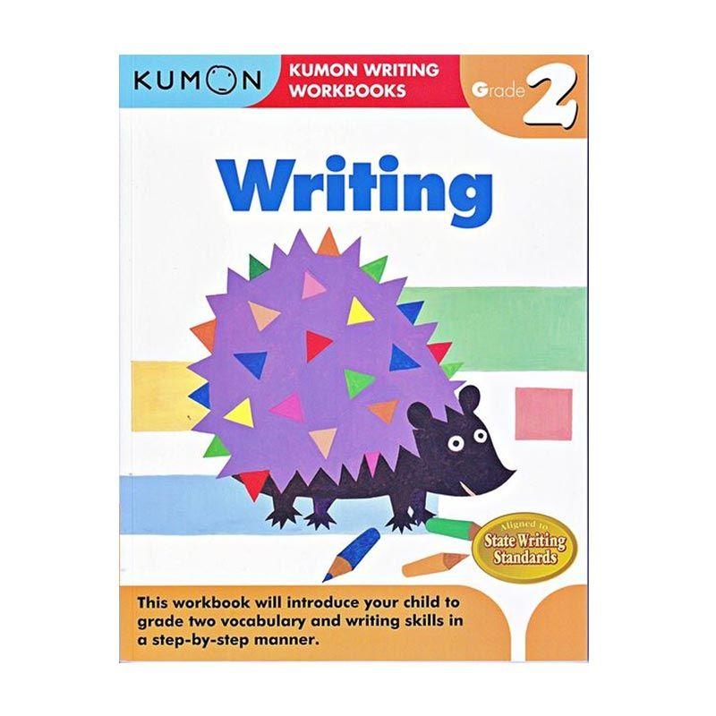 Kumon Grade 2 Writing Workbooks Buku Anak