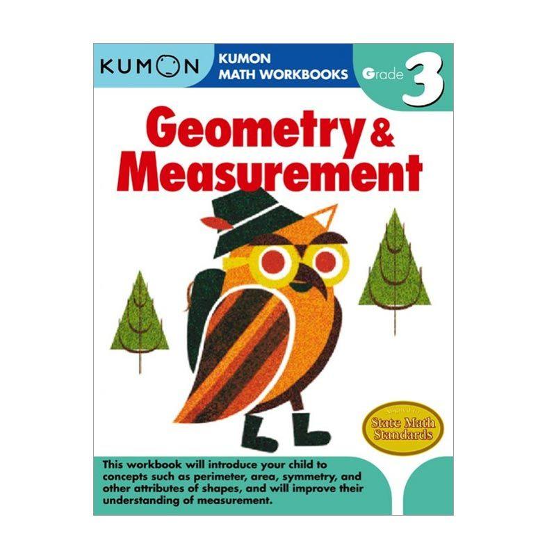 Kumon Grade 3 Geometry & Measurement Workbooks Buku Anak