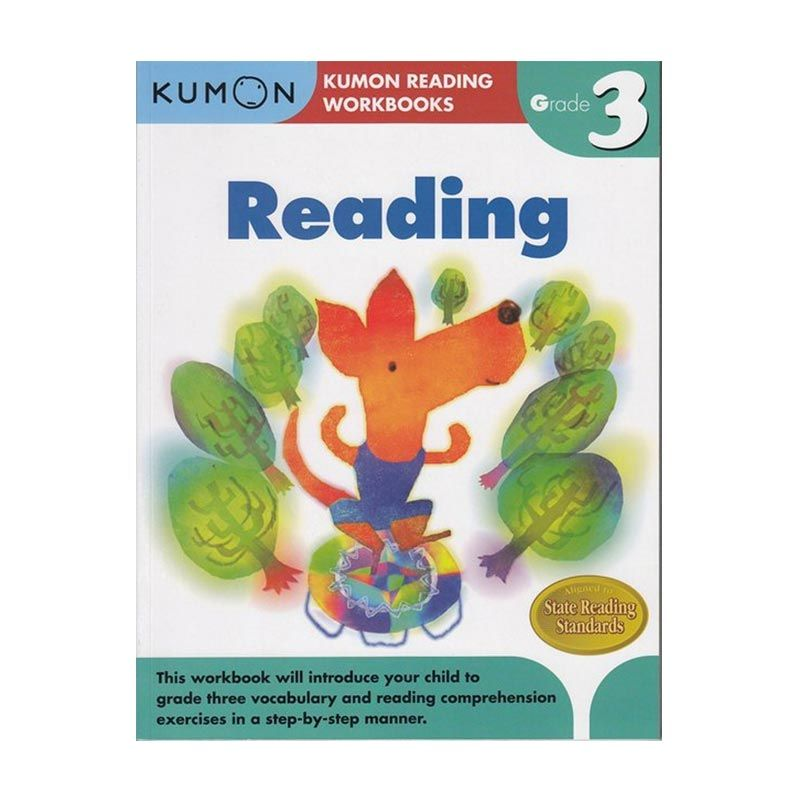 Kumon Grade 3 Reading Workbooks Buku Anak