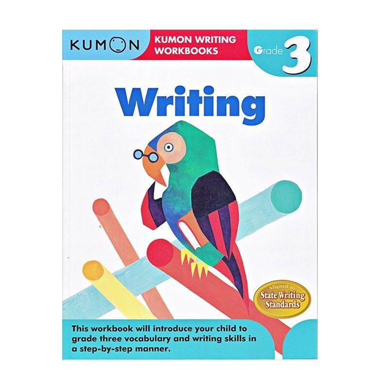 Kumon Grade 3 Writing Workbooks Buku Anak