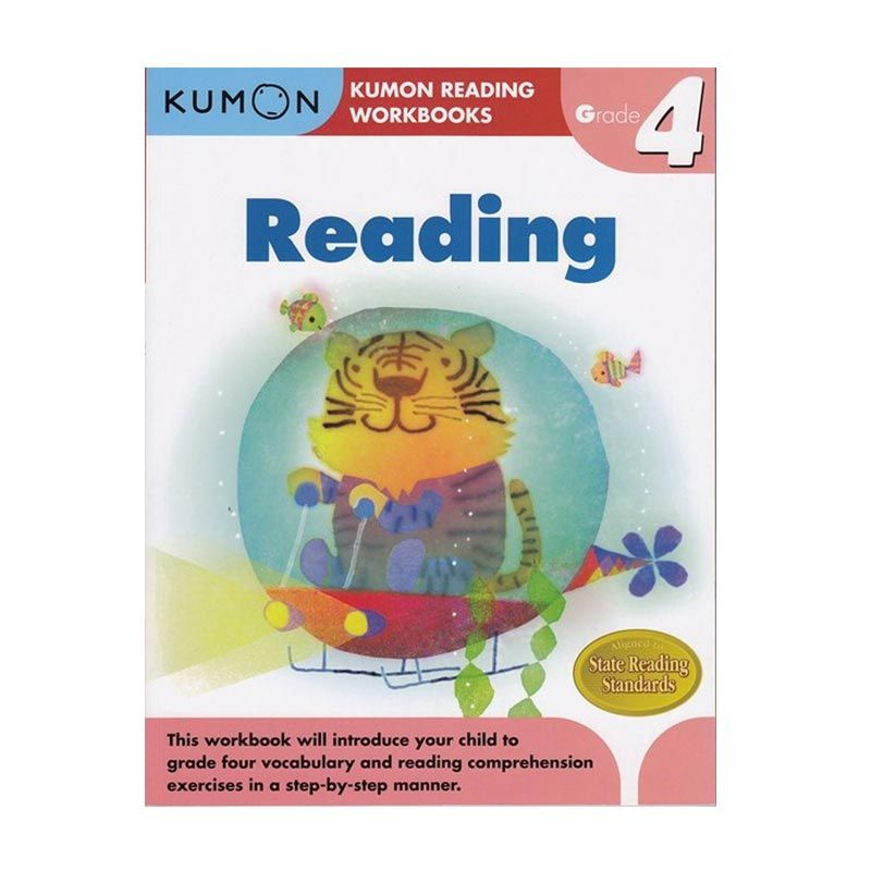 Kumon Grade 4 Reading Workbooks Buku Anak