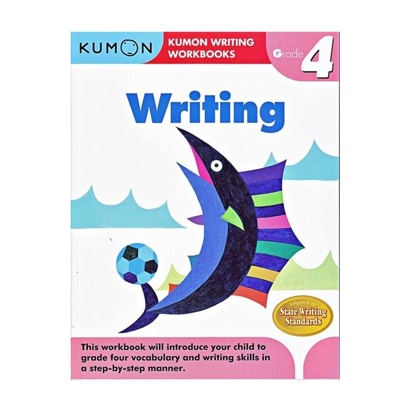 Kumon Grade 4 Writing Workbooks Buku Anak