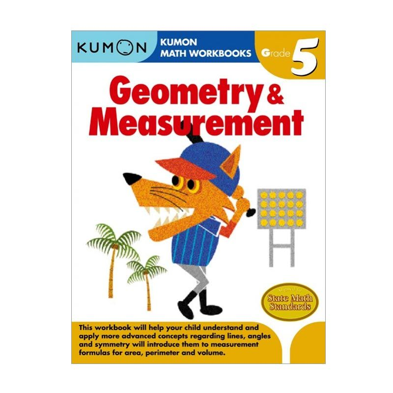 Kumon Grade 5 Geometry & Measurement Workbooks Buku Anak