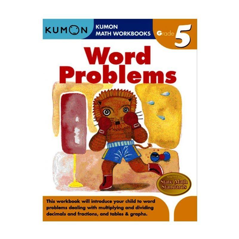 Kumon Grade 5 Word Problems Workbooks Buku Anak