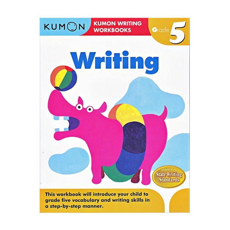 Kumon Grade 5 Writing Workbooks Buku Anak