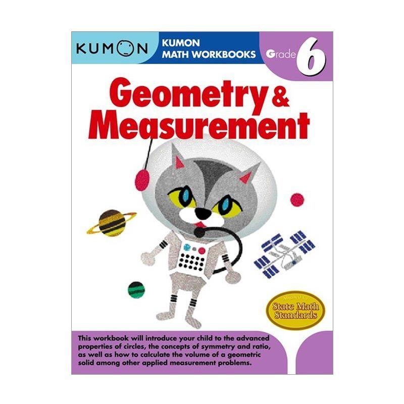 Kumon Grade 6 Geometry & Measurement Workbooks Buku Anak