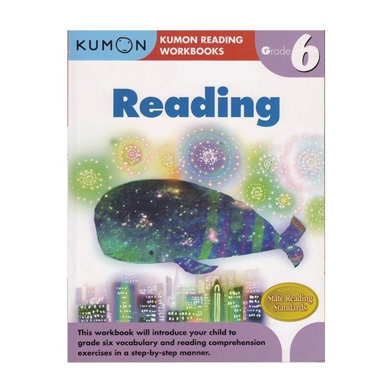 Kumon Grade 6 Reading Workbooks Buku Anak